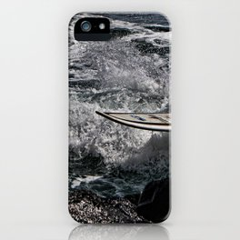 Lost surf board Spirits of the se iPhone Case