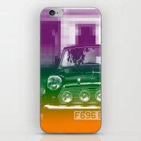 mini iPhone & iPod Skins featuring Mini by Matt Wade