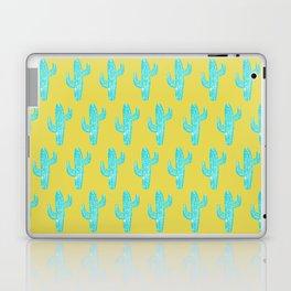Linocut Cacti Desert Laptop & iPad Skin