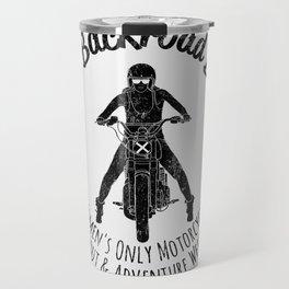 The Backroad Ball (black version) Travel Mug