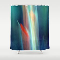 abstract Gladiolus #1 Shower Curtain