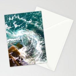 Wave Swirl Stationery Cards