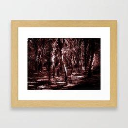 Dense Magenta Framed Art Print