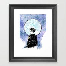 Auror Harry Framed Art Print