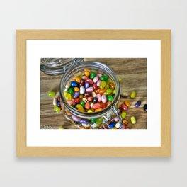 Jelly Bean Street Framed Art Print