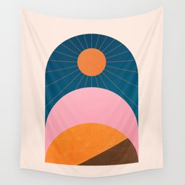 Abstraction_Sunshine_Minimalism_001 Wall Tapestry