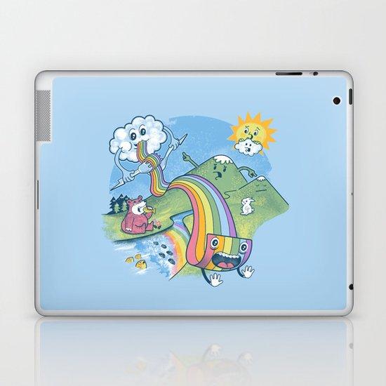 Rainbow Pasta Laptop & iPad Skin