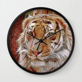 Extraordinary Animals - Tiger 2 Wall Clock