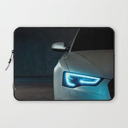 Sports Car Headlight Laptop Sleeve