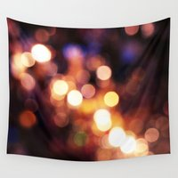 bokeh Wall Tapestries featuring Bokeh by bobbierachelle