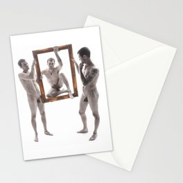 I Framed Myself Stationery Cards