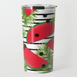 Tropical Watermelons Travel Mug