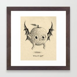 Fruit Bat Framed Art Print