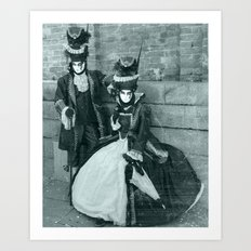 Il Carnevale. Art Print