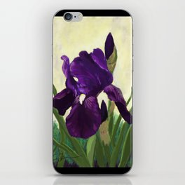 Purple Iris DP150530 iPhone Skin