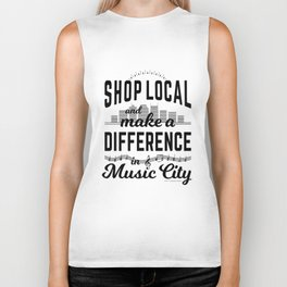 Shop Local and Make a Difference in Music City Biker Tank