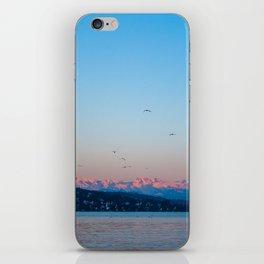alpenglow iPhone Skin