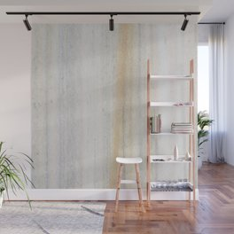 Rustic gray gold yellow vintage white marble Wall Mural