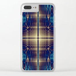 Fractal Abstract 22 Clear iPhone Case