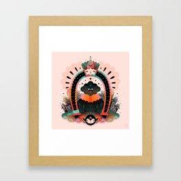 The Horseshoe Framed Art Print