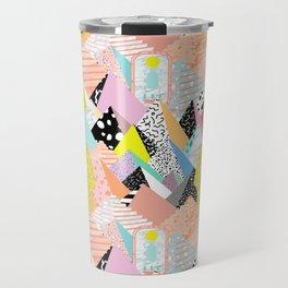 Postmodern Pyramids Travel Mug