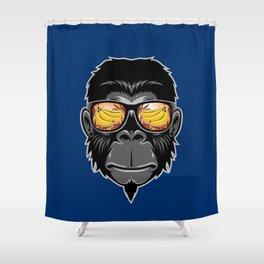 Mo nkey Shower Curtain