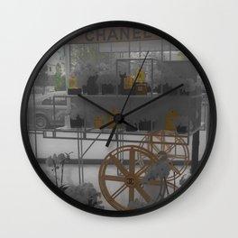 Fashion Icon Display Wall Clock