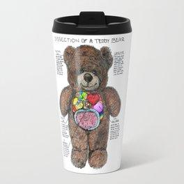 Dissection of a Teddy Bear Travel Mug