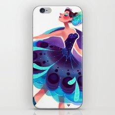 Peacock Tutu iPhone & iPod Skin
