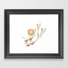 Lillies Framed Art Print