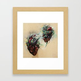 Arrested Vascular Fusion of Two Entities in Need Framed Art Print