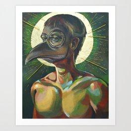 The Masked Man Art Print