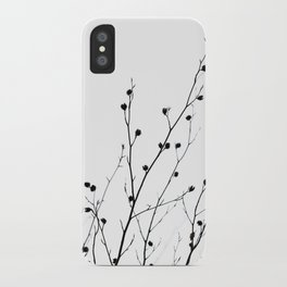 Winter Silhouettes 2 iPhone Case