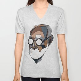 Freud Unisex V-Neck