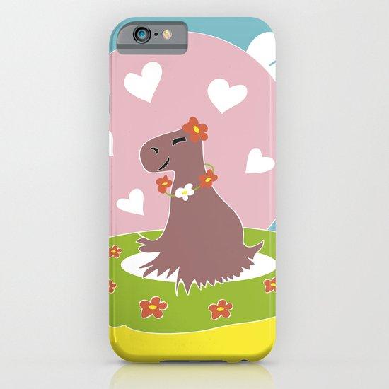 Capybara in Love iPhone & iPod Case