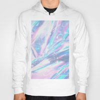holographic Hoodies featuring Iridescence by Leah Moloney Photo