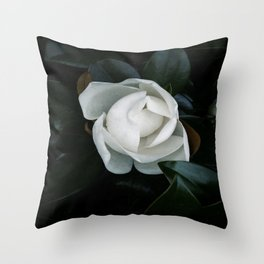 Becoming - Southern Magnolia Throw Pillow