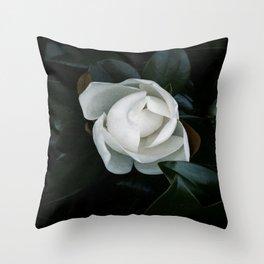 Becoming - Southern Magnolia Throw Pillow