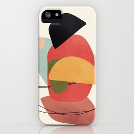 Abstract Shapes 15 iPhone Case