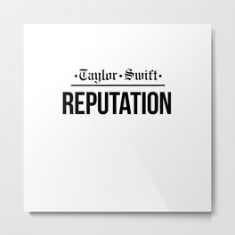 ts rep news Metal Print