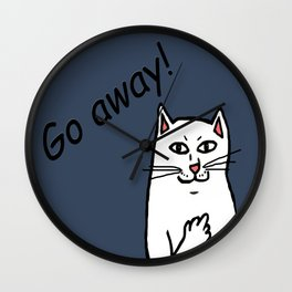 Naughty Cat Wall Clock