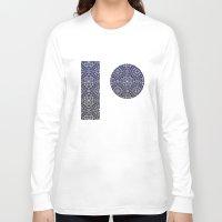 wallpaper Long Sleeve T-shirts featuring Wallpaper by MinaSparklina