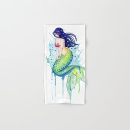 Mermaid Splash Hand & Bath Towel