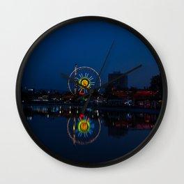 The Wheel Wall Clock