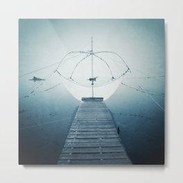 Fishing net Metal Print