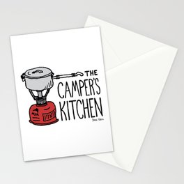 The Camper's Kitchen Stationery Cards
