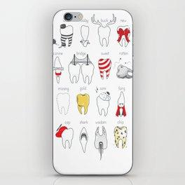 Dental Definitions iPhone Skin
