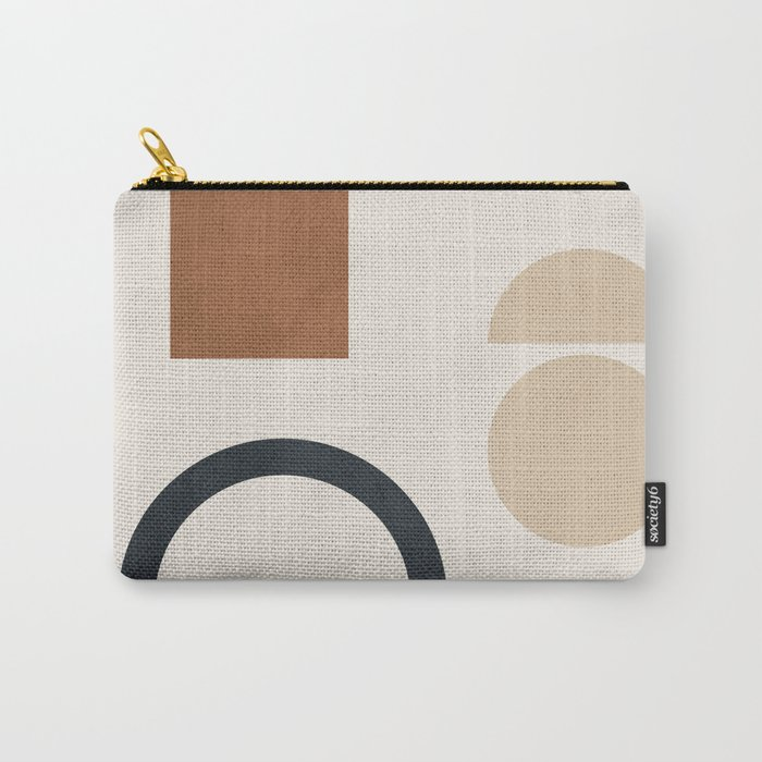 Geometric Modern Art 32 Carry-All Pouch