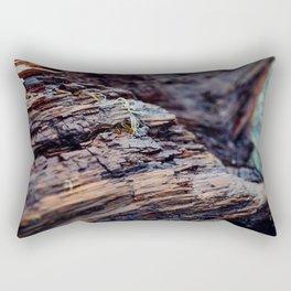 Wooden Texture Rectangular Pillow