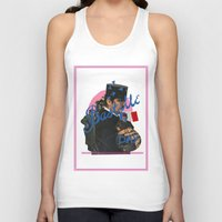 bastille Tank Tops featuring bastille day by crayon dreamer
